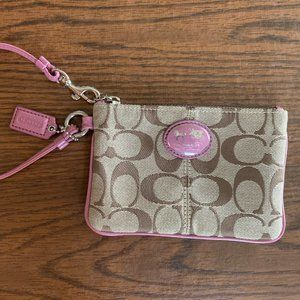Coach Wristlet, New without Tags